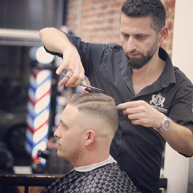 Websta Kingsbarberhastings Barber Life Barber Shop Mens