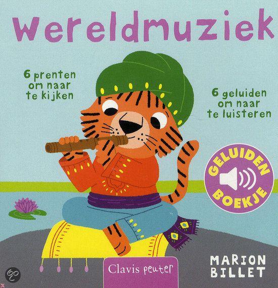 Wereldmuziek (geluidenboekje) - Marion Billet
