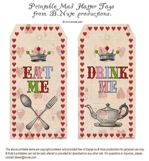 Free mad hatter tea party invitation printable orderecigsjuicefo 239 best alice in wonderland tea party ideas images on pinterest invitation templates pronofoot35fo Images