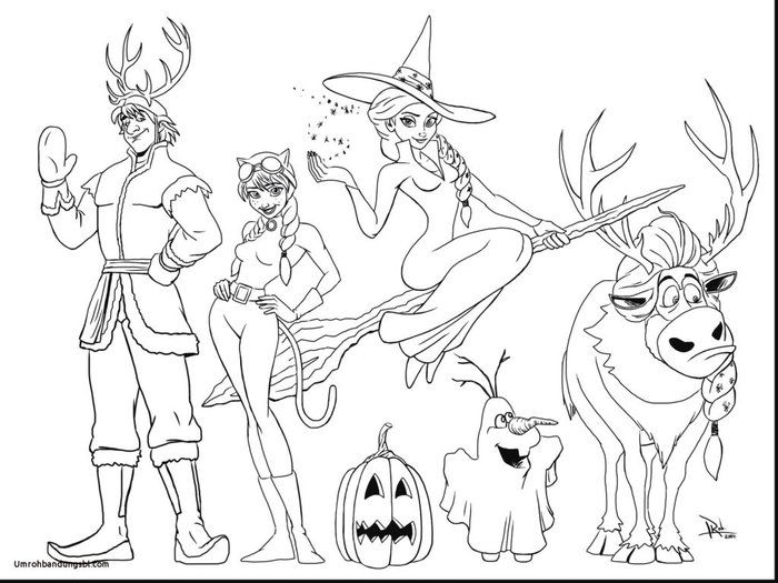 Free Coloring Pages Frozen Halloween Coloring Pages Rapunzel Coloring Pages Halloween Coloring Sheets