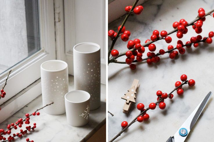 #Christmas #candles #decoration | 13zor for Dille & Kamille