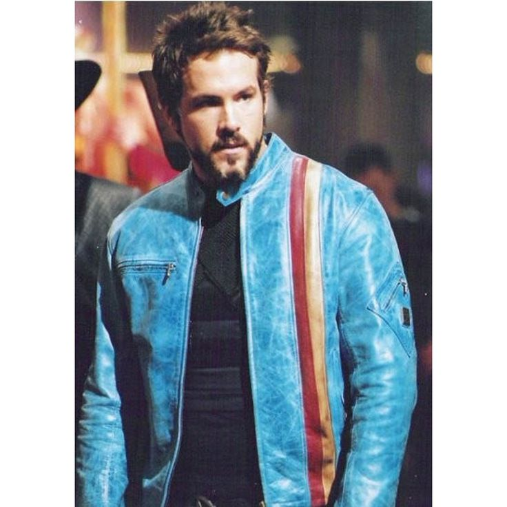 Buy Hannibal King Blade Trinity Ryan Reynolds Leather Jacket at affordable rate with free shipping to USA, UK & Canada from fameleathers.com. #bladetrinityleatherjacket #BladeTrinityRyanReynoldsHannibalKingLeatherJacket #BladeTrinityRyanReynoldsLeatherJacket #HannibalKingBladeTrinityRyanReynoldsLeatherJacket #ryanreynoldsleatherjacket #ryanreynoldsleatherjacketbladetrinity