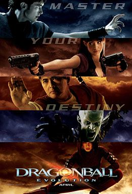 Holy crap, how did I not know they had made a live action Dragonball Z movie? O.o