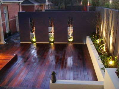 Decking Garden Feature Wall Lighting