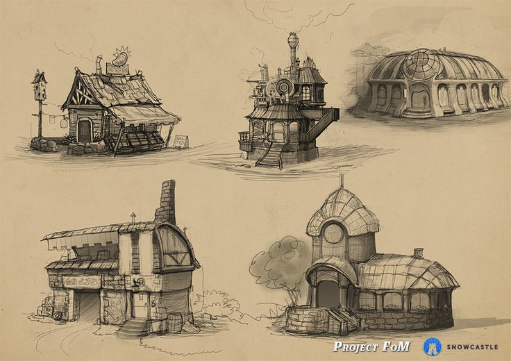 fom_townarchitecture_sketches http://www.kickstarter.com/projects/171497873/festival-of-magic