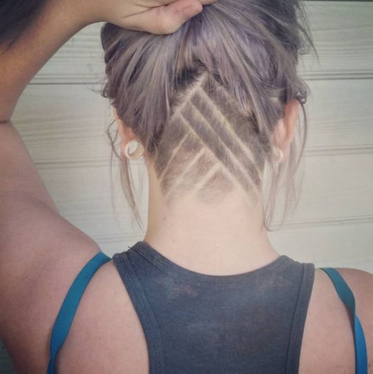 Girls with undercuts are taking over Instagram - Fashion and lifestyle News - Yahoo Style Canada