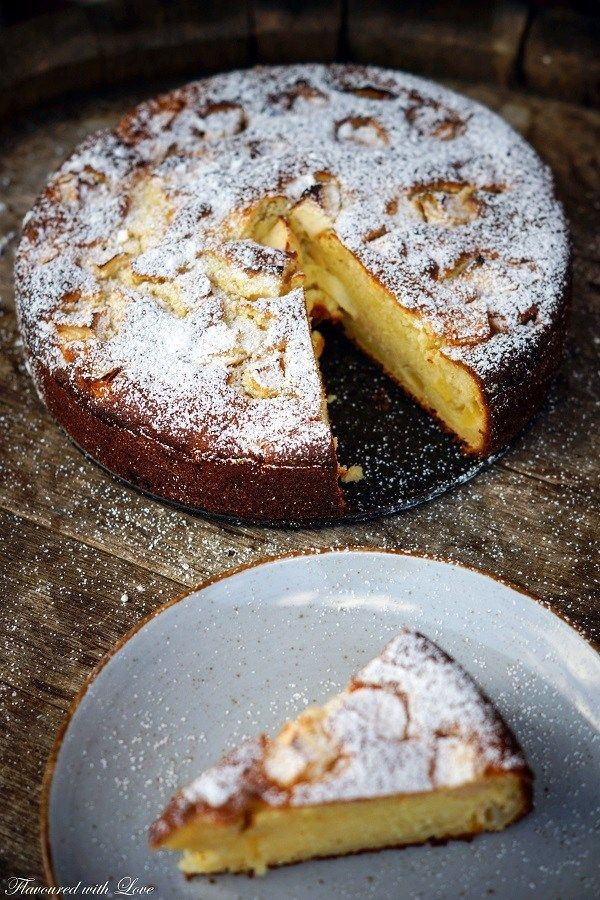 Ricotta apfelkuchen kuchen und torten backen for Gute und gunstige kuchen