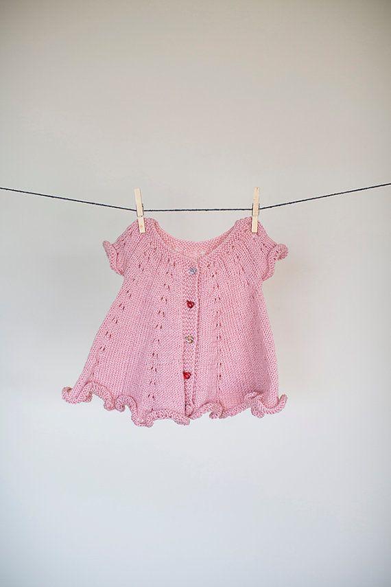 Baby dress, Knit Honeydew, green newborn dress, winter dress, baby dress, knit, baby clothes, wool dress, baby girl dress