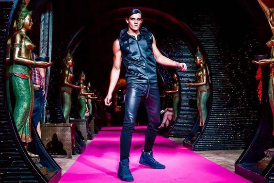 Oscar Calvo Menswear Fashion Connect VAMFF 2014 #oscarcalvo #menswear #vamff #fashionevent #fashiondesigner