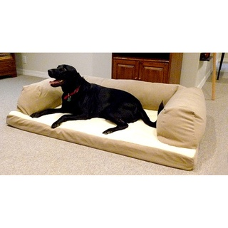 @Overstock - Tired of your pooch lounging on your sofa? Give your best friend his own dog couch. Once he buries his nose on its plush poly-suede, snuggles into the Sherpa fleece top, and naps on the orthopedic foam mattress, your dog will not want to get up.http://www.overstock.com/Pet-Supplies/Hidden-Valley-Large-Tan-Baxter-Dog-Couch/6217880/product.html?CID=214117 $74.99