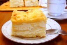 Пирог из лаваша с творогом и сулугуни.