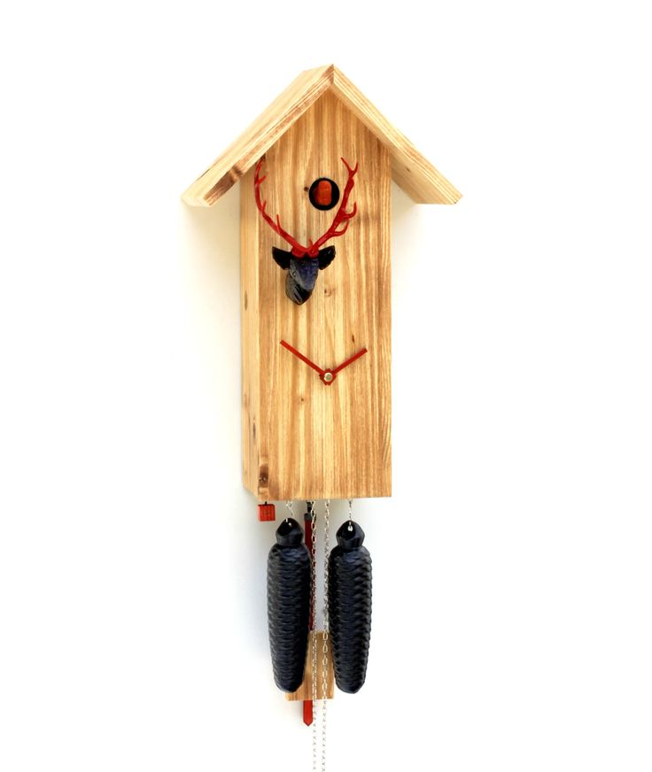 Modern Cuckoo Clock By ROMBA, The Inventors Of The Cuckoo Clock Of The  Third Generation