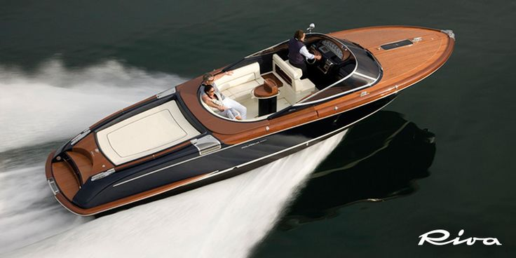The Riva Aquariva Super on display at the Palm Beach International Boat Show