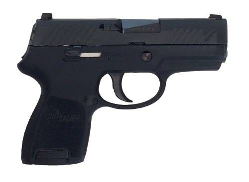 Sig Sauer 320SC-9-B P320 Sub Compact Pistol 9mm 3.6in 12rd Black for sale at Tombstone Tactical.