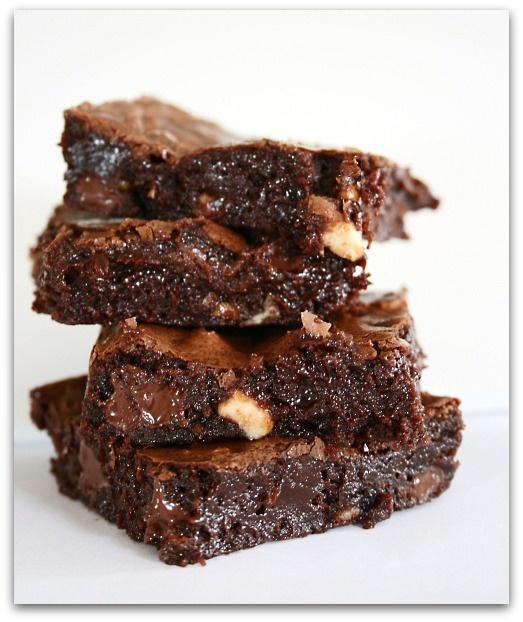 brown butter brownies - bon appetit   d e l i c i o u s   Pinterest
