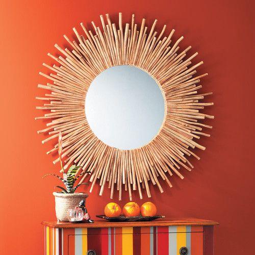 Miroir en bois H 110 cm KAMPAR