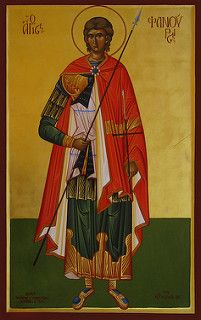 Άγιος Φανούριος, Saint Fanourios icon