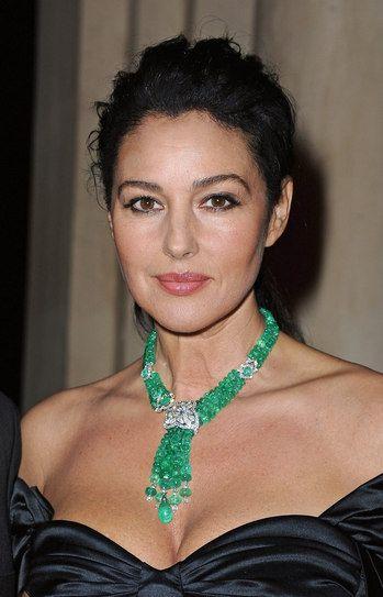 "Monica Bellucci Photos: ""Sortilege de Cartier"" Collection Launch In Rome…"