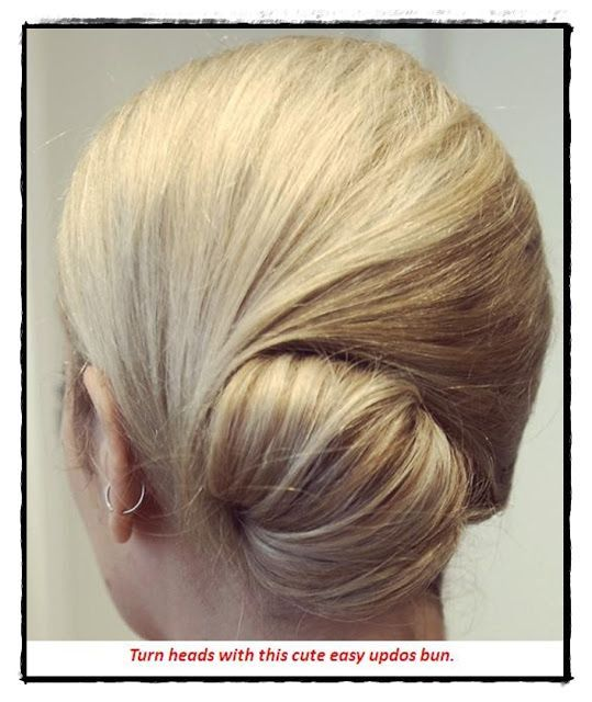 Cute easy updos for medium hair   Hairstyles 2013   Hair Ideas   Updos