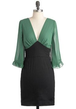 Office Envy Green Dress, #ModClothGreen Envy, Fashion Dresses, Christmas Dresses, Retro Vintage Dresses, Envy Dresses, Offices Envy, Offices Wear, Envy Green, Green Dresses