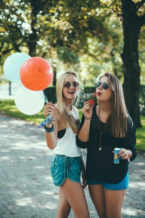Balloons amitié amies friends