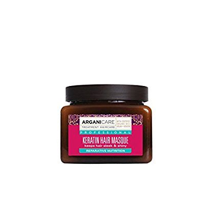 Arganicare Keratin Nourishing Hair Masque with Certified Organic Argan Oil for dry and damaged hair 16.9 fl oz *** Read more info by clicking the link on the image. #hairtreatment
