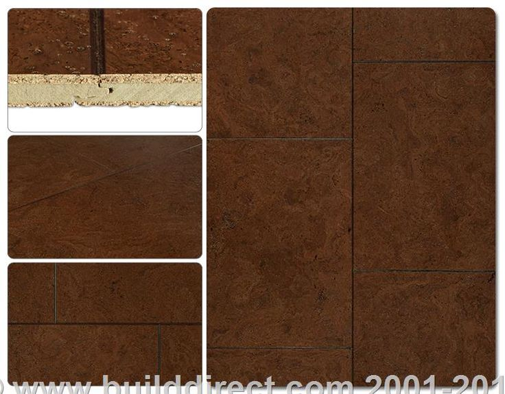 Cork flooring rocha slate collection terrene brown for Dupont real touch elite laminate flooring