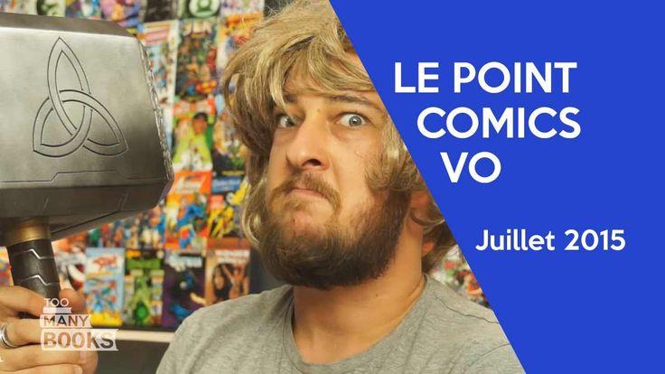 Le Point Comics VO - Juillet 2015