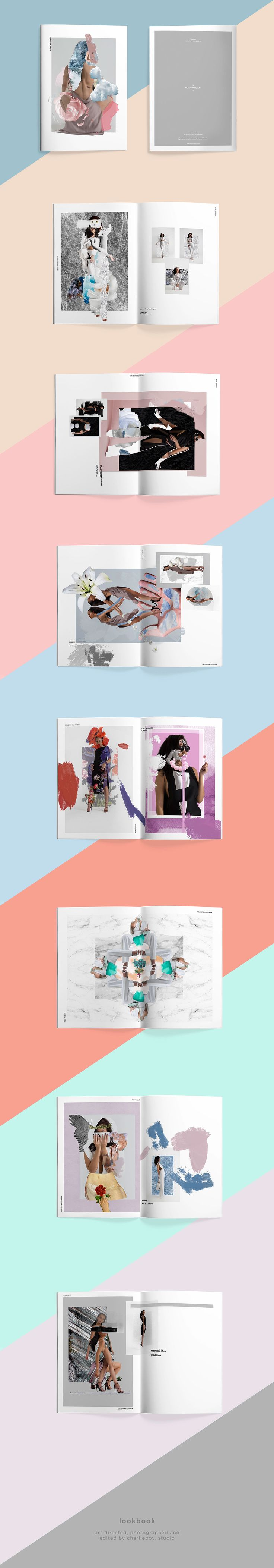 Roya Vahdati - Lookbook & Branding on Behance