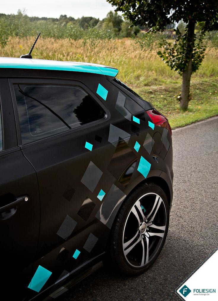 Auto • KIA cee'd [by FOLIESIGN • www.foliesign.de] #CarWrapping #KIA