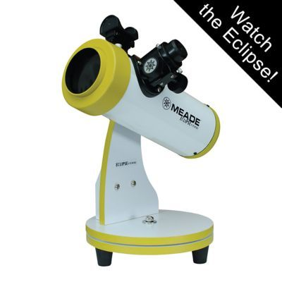 Meade EclipseView 82mm Reflecting Telescope -- watch the eclipse!
