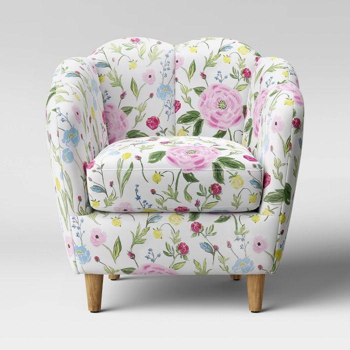 Catonsville Barrel Chair Threshold Barrel Chair Upholstered