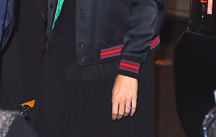 Pin for Later: Brie Larson Hosted SNL With a Shiny New Engagement Ring on Her Finger