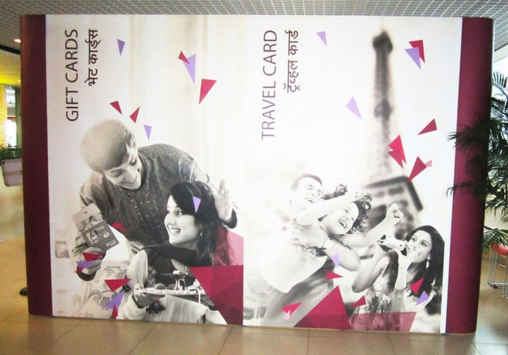 Brand Activation for Axis Bank using Expo Prestige Portable Modular Product. Visit us http://www.expodisplayservice.ae/