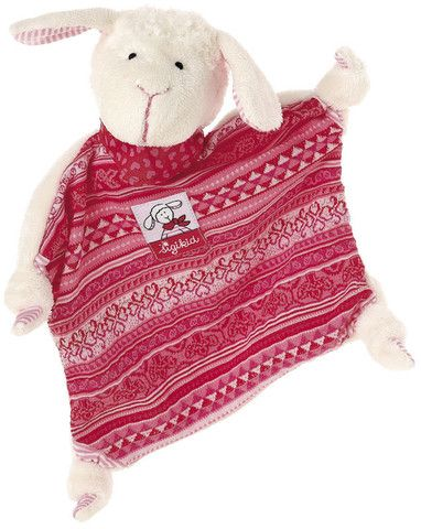 Sigikid Comforter Schnuggi £15.20  This Schnuggi comforter is a very special piece of cloth for the little ones to cuddle, hug and comfort.