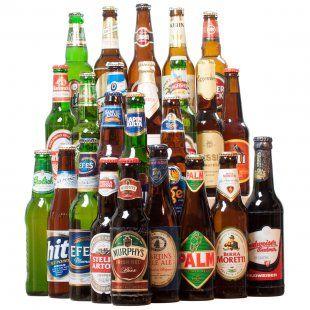 24 Biere aus aller Welt