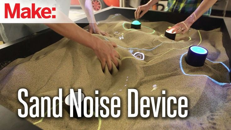 Sand Noise Device, An Interactive Electronic Instrument That Is Controlled Using a Sandbox