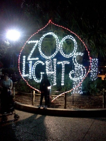 Houston Zoo Lights holiday display Totally can't wait to go the Houston Zoo on Sunday... and then checking out the zoo lights Got free tickets for getting the fam a zoo membership what what... Summer is gonna love it.