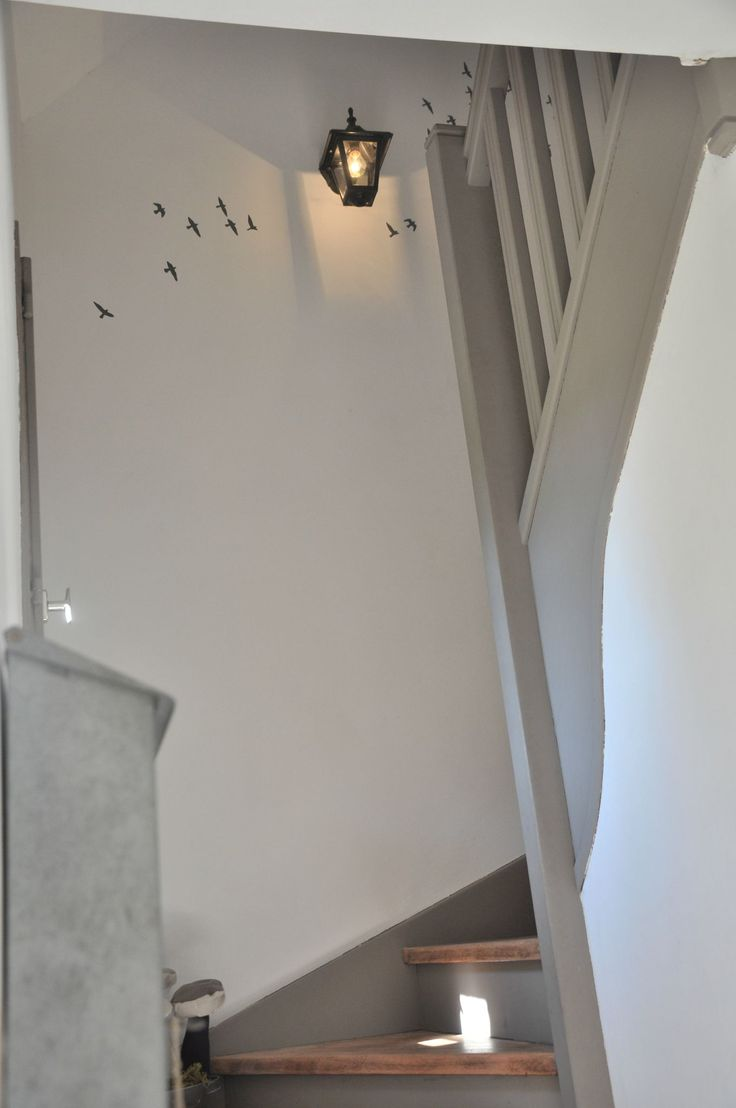 couleur escalier / rambarde