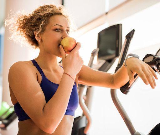 This is why you should eat before exercising. Other than the fact the person next to you on the treadmill doesn't want to hear your stomach rumbling. By Catriona Harvey-Jenner