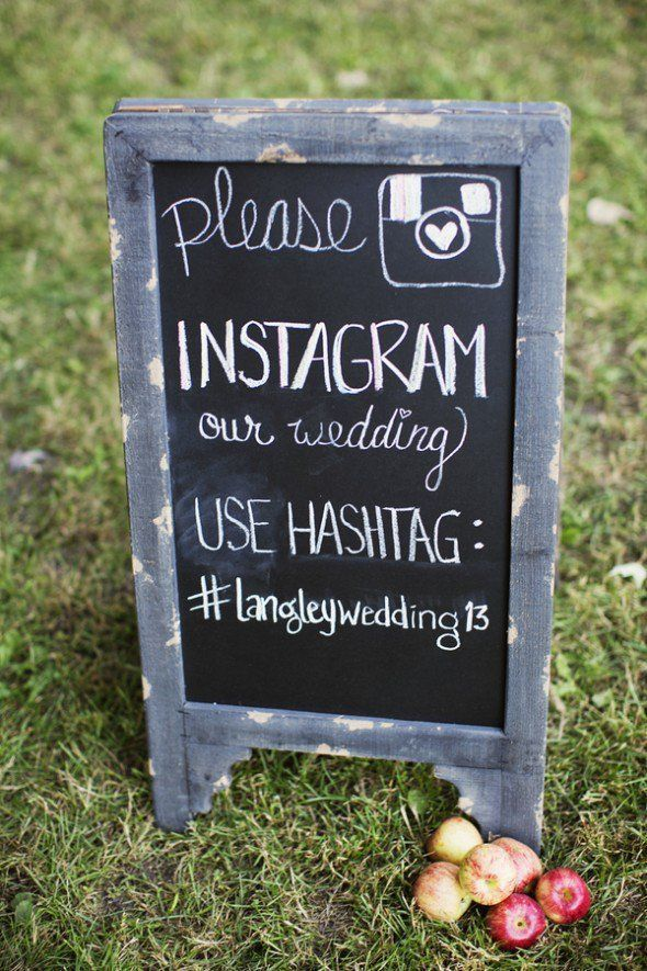 This is perfect! We did this for our wedding. Create your own hashtag on Instagram so you can see all the photos your guests took.