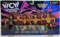 WCW WORLD CHAMPIONSHIP WRESTLING STING/RICK STEINER/RIC FLAIR/LEX LUGER
