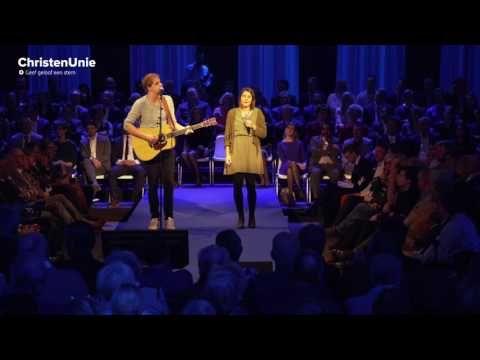 Matthijn Buwalda & Kinga Bán - Vuur  (Live op het verkiezingscongres)