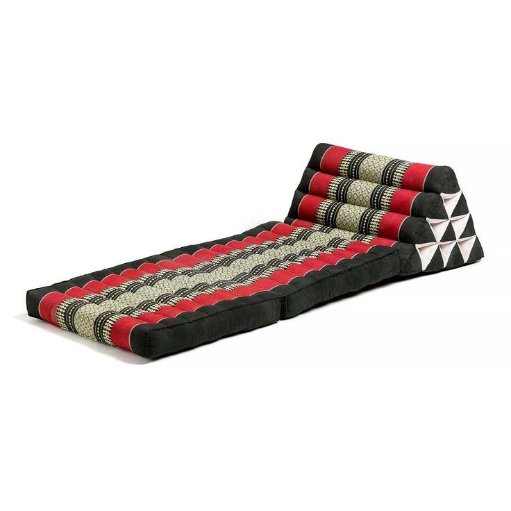 Τρίγωνο μαξιλάρι με δύο δίπλες, με πλάτος 50εκ και μήκος 120εκ.