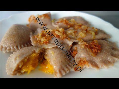 Nieklasyczne Ciasto Na Pierogi Przepis Jak Zrobic Pierogi Z Pysznym Farszem Youtube Pierogies Food Breakfast