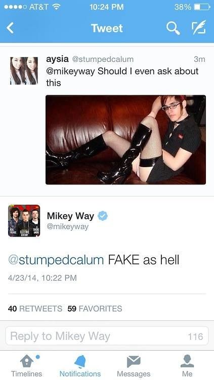 If you say so, Mikey...........