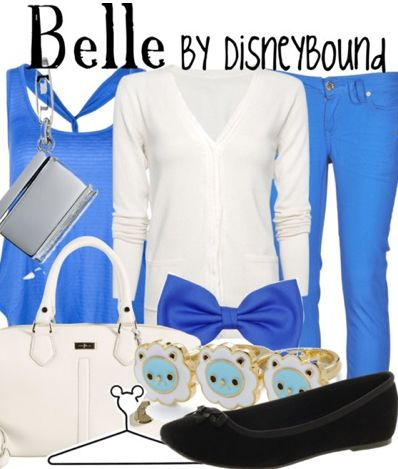 Belle by Disney Bound  Fashion Disney Outfits  Beauty and the beast