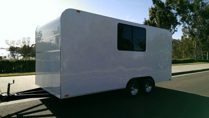 10 Best Images About Custom Toy Hauler With Windows On