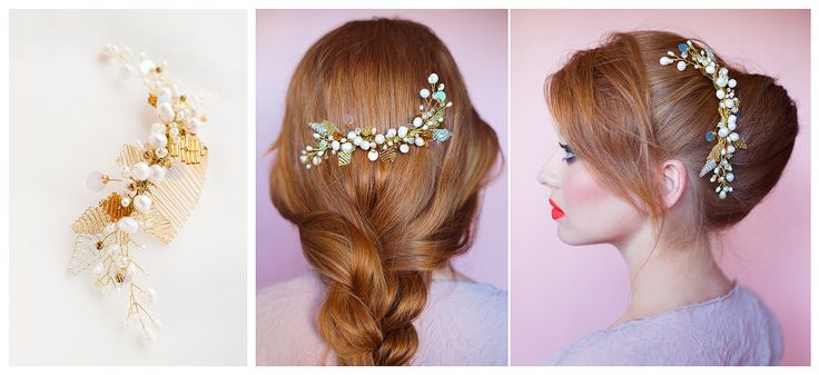 Ethereal Bridal Accessories - PIEPTENI