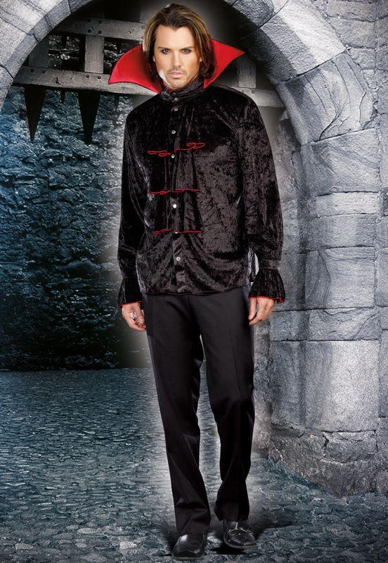Men's Vampire Costume, Sexy Men's Vampire Costume, Men's Halloween Costumes, Couples Halloween Costumes